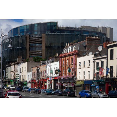 The Criminal Courts of Justice Parkgate Street Dublin City Ireland Canvas Art - Panoramic Images (27 x 9)