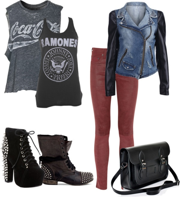 """""""Edgy Fall Fashion"""" by la-vie-folle on Polyvore"""