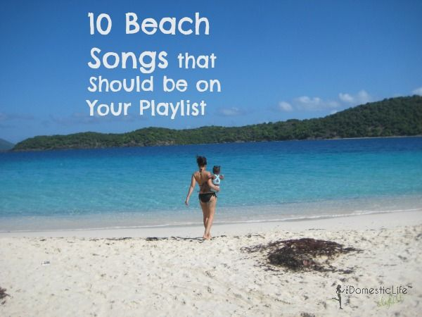 "Lisa made an awesome ""beach"" playlist... what do you think? Kokomo is my fav beach song!"