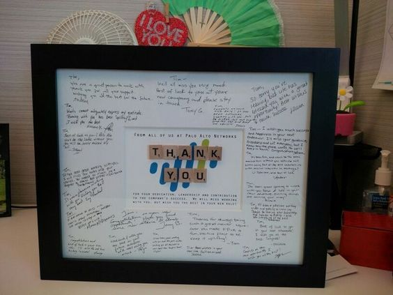 Image result for meaningful office gifts for a coworkers going away