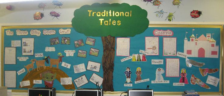 Traditional tales classroom display photo - Photo gallery - SparkleBox