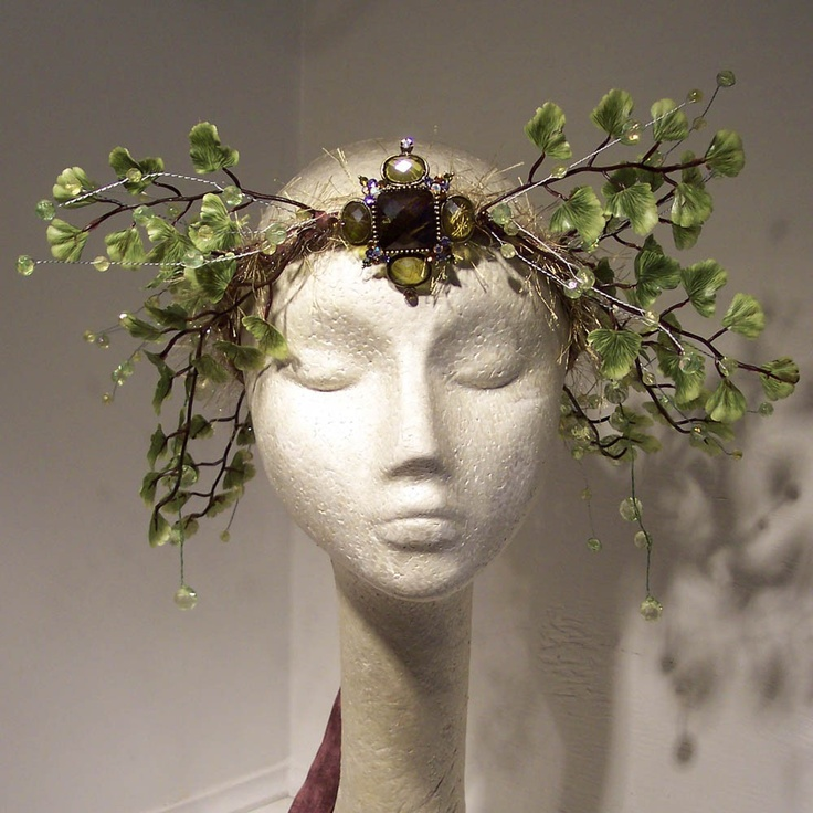 Woodland Fern Fairy Crown