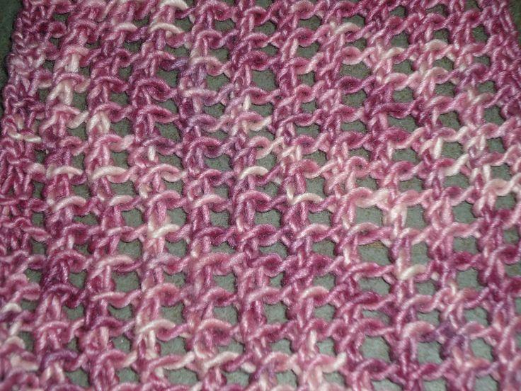 Easy Knit Stitch Patterns : Easy knit lace stitch Zen of Knitting Pinterest