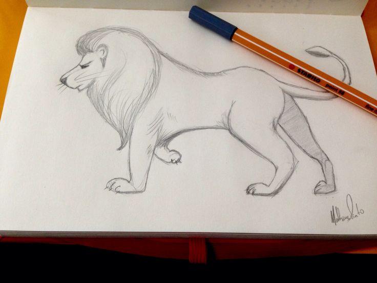 Type: Lion, The King.  Name: Rafa