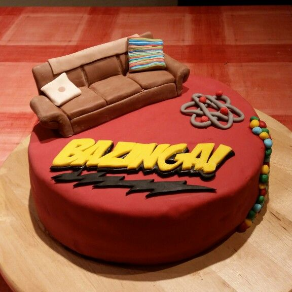 Big Bang theory Ispired Cake done by me