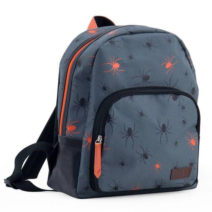 Kinderrugzak Boys Spider van Zebra Trends hier online kopen. Stoere kinderrugzak met spinnen. Goede kwaliteit en ook zeer geschikt als schooltas!
