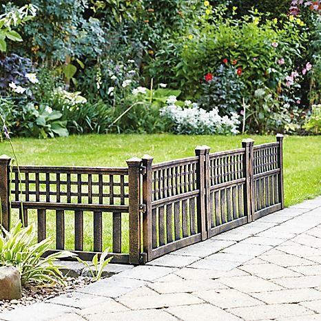Pack of 4 Bronze Effect Fence Panels #Kaleidoscope #garden
