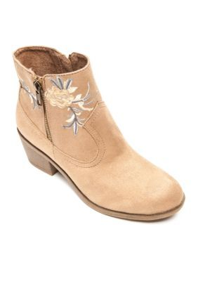 Rock And Candy By Zigi Women's Loraina Western Boot - Sand Suedette - 6.5M