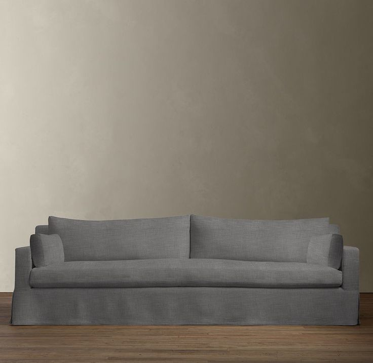 restoration hardware leather sofa bed maxwell slipcover diy table classic