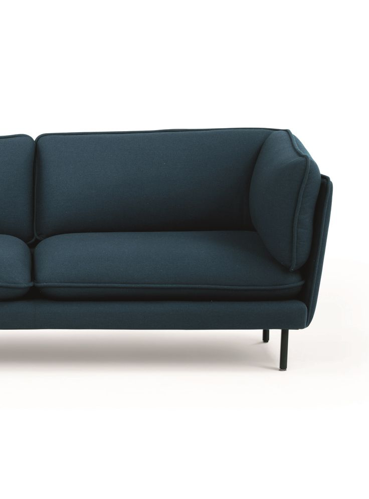 Wes Sofa, in Petrol Teal. A design by Swedish design studio Cate & Nelson. £999. MADE.COM