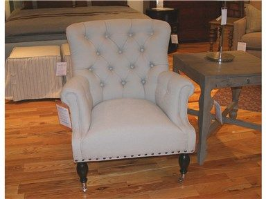 Vanguard Furniture Outlet V268-CH Tufted Back Chair by Vanguard Furniture at Goods Home Furnishings in NC Discount Furniture Stores