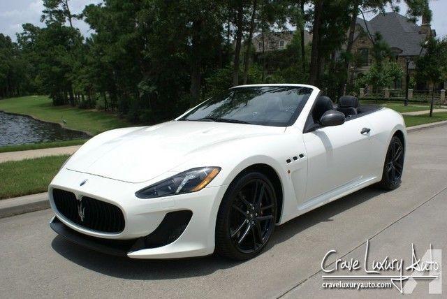 Maserati GranTurismo MC Convertible loaded carbon fiber MSRP $170,315.00