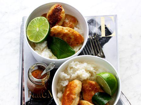 Kycklingbiffar med mango chutney | Recept från Köket.se