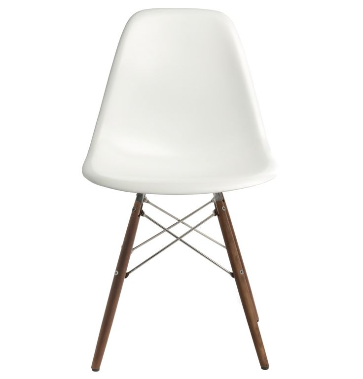 The Matt Blatt Replica Eames DSW Side Chair - Fibreglass by Charles and Ray Eames - Matt Blatt