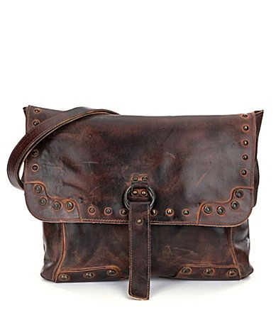 Bed Stu Thames Leather Flap CrossBody Bag #Dillards