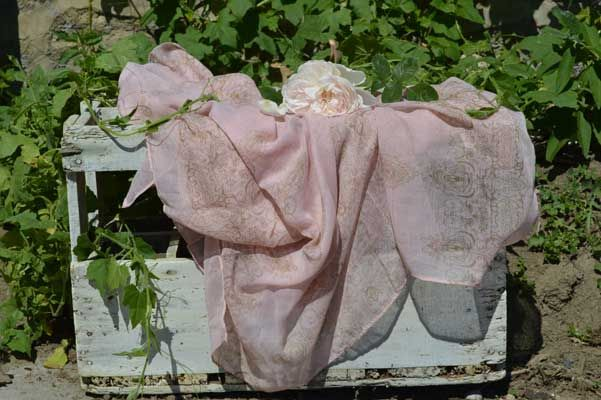 This Pink Blush Scarf would be such a lovely little addition to your collection, perfect for Summer as it's light & versatile. The scarf has an interesting soft brown print on a pink blush background, which is luxurious to the touch as it's a been made out of a fabric blended from Voile & Linen . Silk Scarf - Sale Price £13.50 + P&P 25% off all our scarves throughout July 2015. Visit: http://www.lovelysilks.com for more info