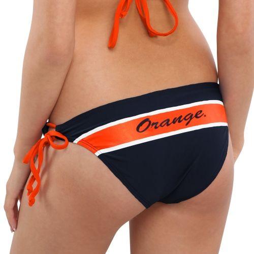 College Syracuse Orange Women's St. Lucia Bikini Bottoms - Navy Blue