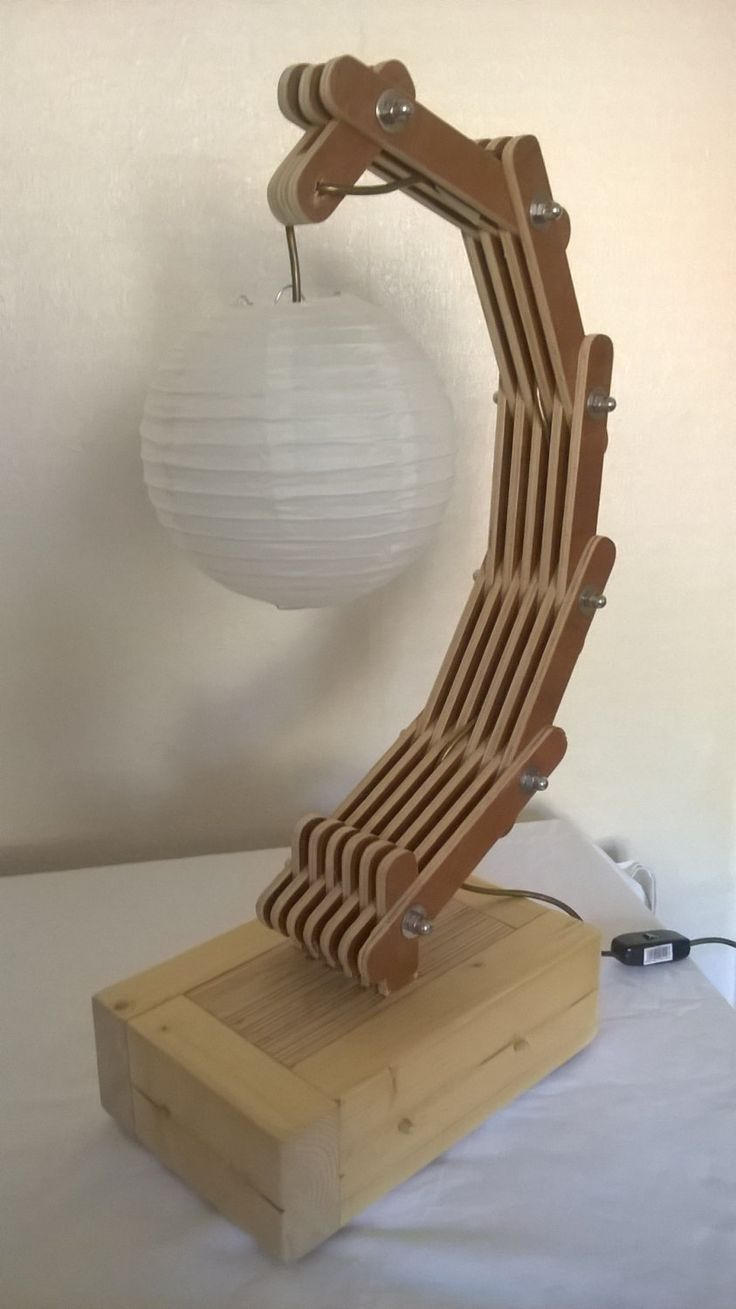 Unique laminated reclaimed wood lamp. Free UK delivery by AshRowanCrafts on  Etsy - 29 Best Images About Handmade Lamps On Pinterest Woods, Vintage