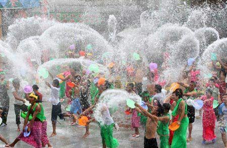 Songkran Water Festival, Thailand: April 13-15