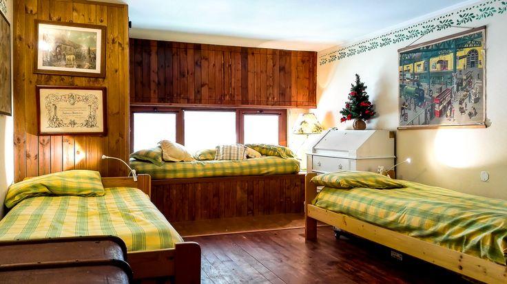 Seconda camera da letto 3 letti + 1 pouf letto
