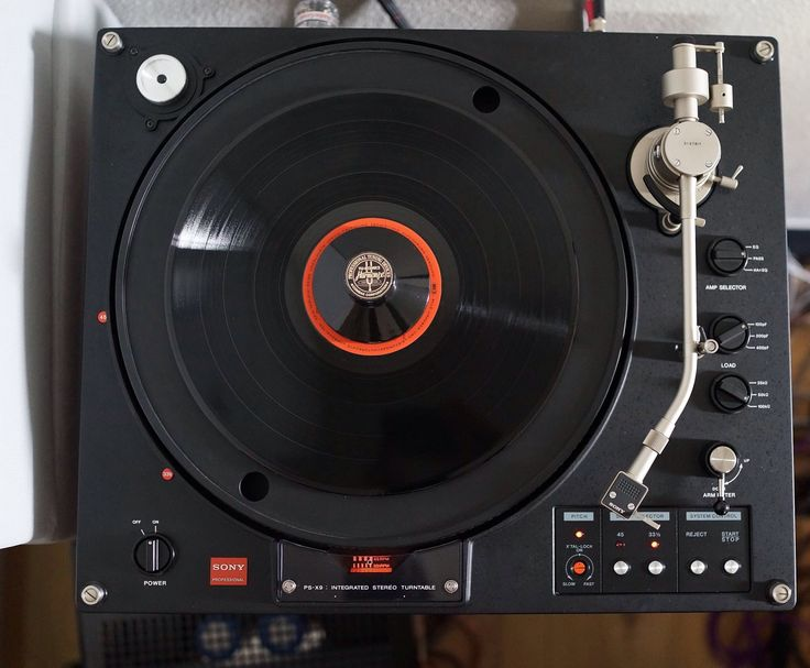 Sony PS-X9 turntable
