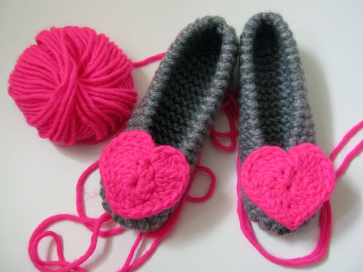 Neon Pink Heart Slippers, Valentines Day Gift, Valentines Slippers, Chunky Slippers, Girls Slippers, Womens Slippers, Houseshoes by UnaCreations on Etsy