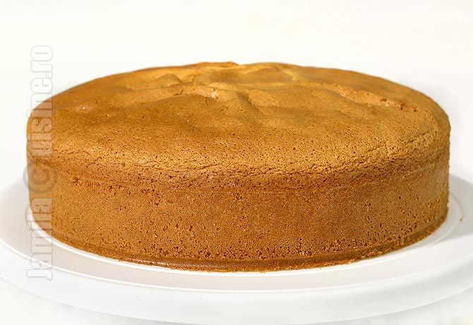 Blat de tort cu vanilie – reteta video