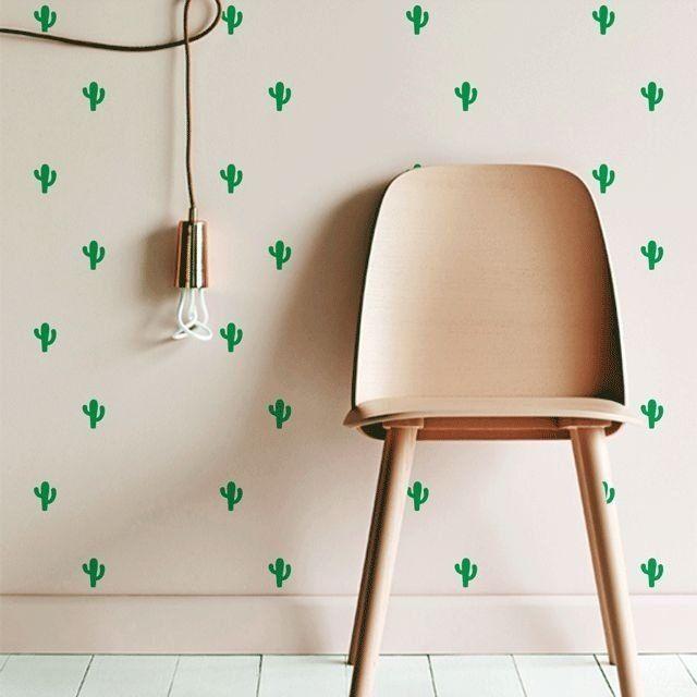 """Adesivo Decor """"Cactus"""" - Papel de Parede e Adesivos Decorativos - AdsiveShop"""