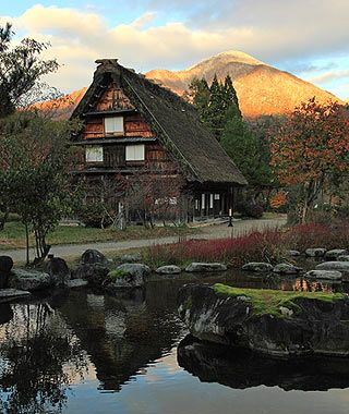 Shirakawa-go, Japan (Travel & Leisure's list of the World's prettiest mountain towns)