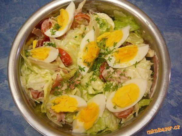 ledový salát mix   (recept od mé maminky)