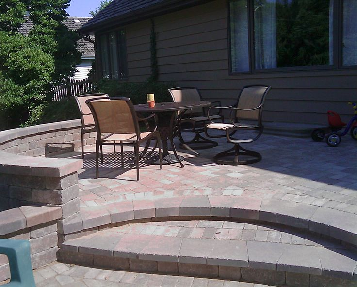 Multilevel Paver Patio By Libertyville, IL Patio Builder