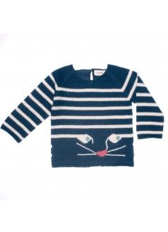 OEUF PRE-SALE: Cat Striped Sweater