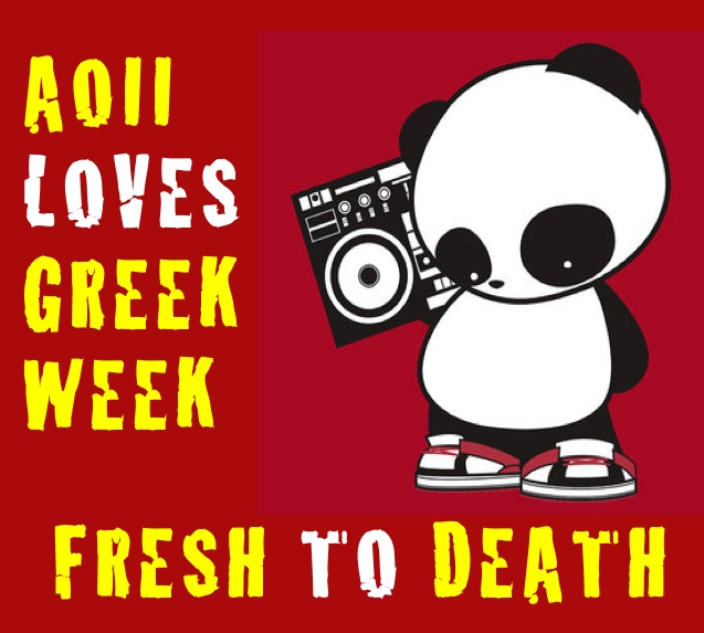 AOII Loves Greek Week - 90s theme