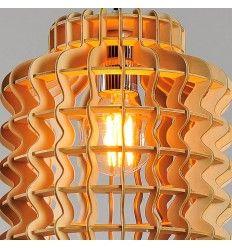 Design chinese lantaarn hanglamp gemaakt van lindehout - Avy