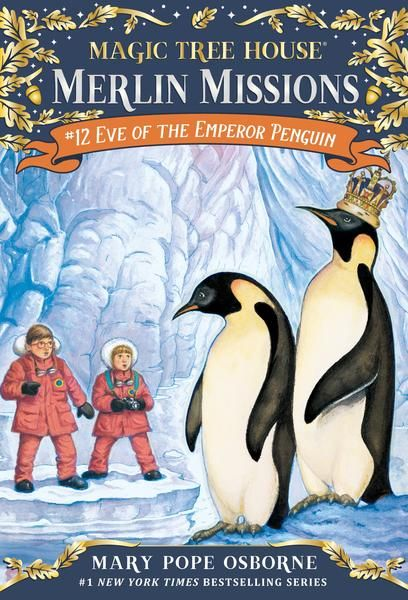 Eve of the Emperor Penguin by Mary Pope Osborne (3rd grade)