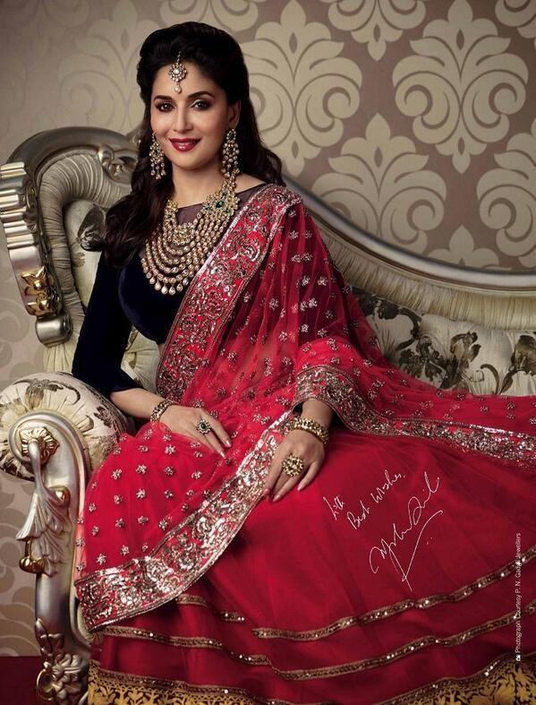 Madhuri Dixit Luxury Beauty - Savvy Magazine : Indian Celebrities