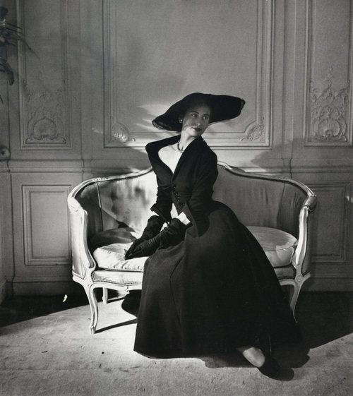 Model in Christian Dior Dress Abandon, 1948/1949 by Willy MaywaldNew Looks, Vintage Dior, Vintage Fashion, Christian Dior, 1950S Dior, Dresses, 1950S Christian, Dior Dress, 1950S Fashion