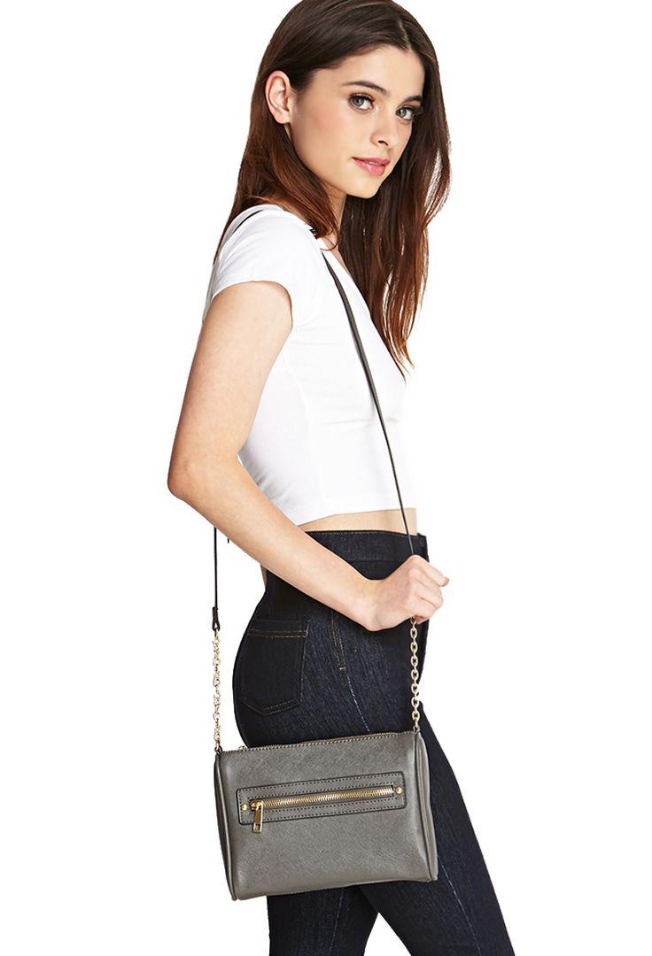 Kleine Umhängetasche - Damen Accessoires, Schmuck und Taschen   online shoppen   Forever 21 - Taschen & Geldbeutel - 1000083348 - Forever 21 EU