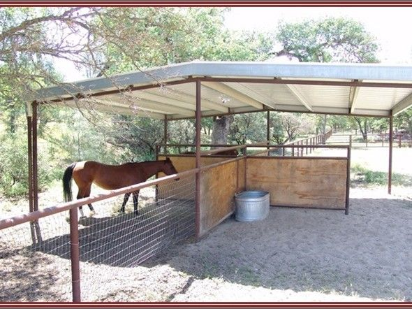 Pasture shelter More