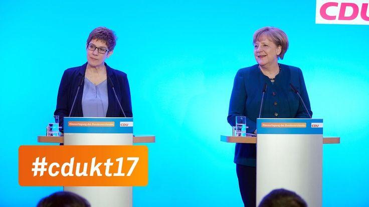 #Pressekonferenz #mit #Angela #Merkel #und #Annegret #Kramp #Karrenbauer   #CDU   #Die CDU-Spitze #hat #im #saarlaendischen #Perl getagt, #um #die #Weichen #fuer #das Bundestagswahljahr #zu #stellen. #Im #Mittelpunkt #standen #unter anderem #die #Themen #innere #Sicherheit, #Soziale #Marktwirtschaft #und Wirtschaftsstandort #Deutschland.   http://saar.city/?p=38778