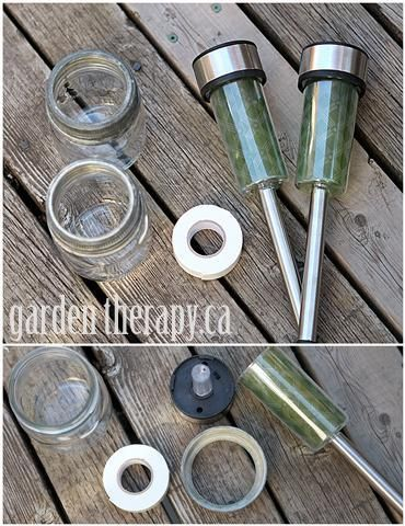 Mason Jar Solar Light DIY Materials I think water beads would but a nice touch on these I am trying them this year
