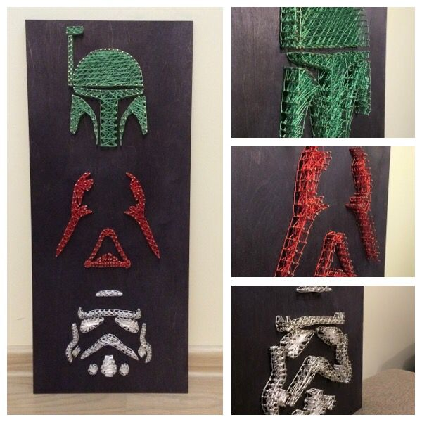 String art изонить Star Wars                                                                                                                                                                                 More