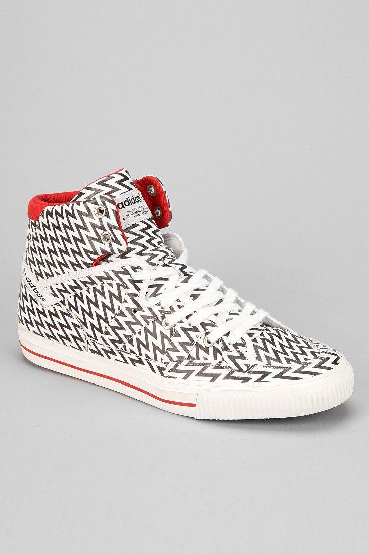 Adidas Blue 90s Midtop sneaker (white)