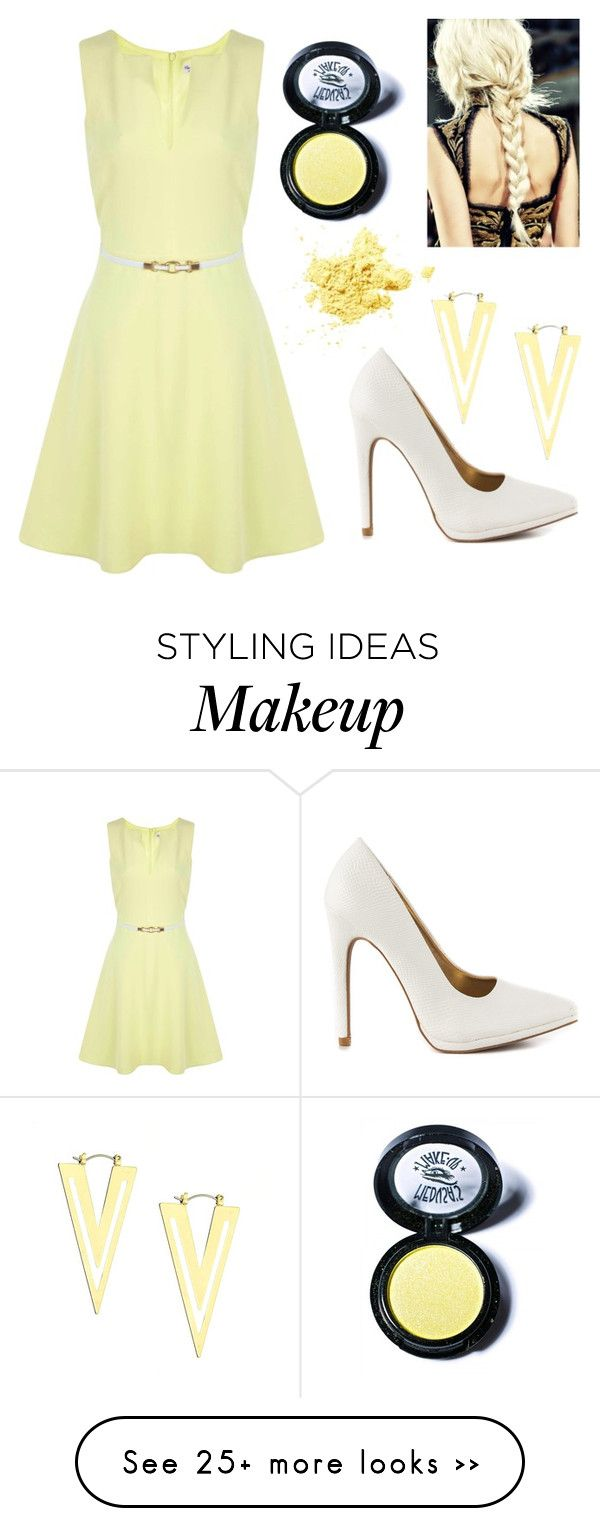 """""""Untitled #555"""" by michelle-burns-steed on Polyvore featuring Miss Selfridge, Qupid and Medusa's Makeup"""