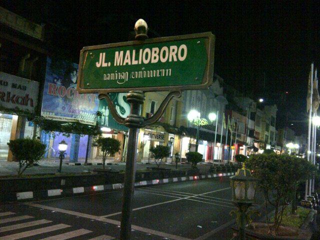 Malioboro di Yogyakarta, DI Yogyakarta
