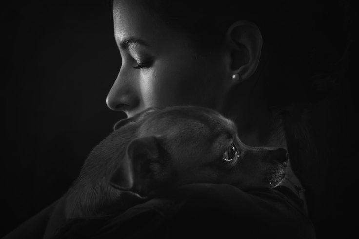 Ana and doggie