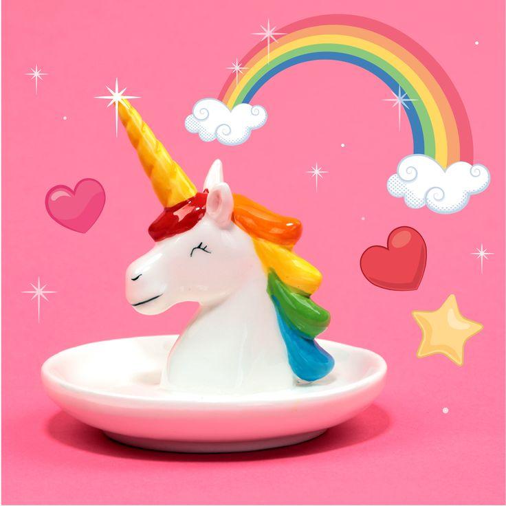 Konečně ta pravá šperkovnice pro ty pravé princezny! #unicorn #trinketbox #jednorozec