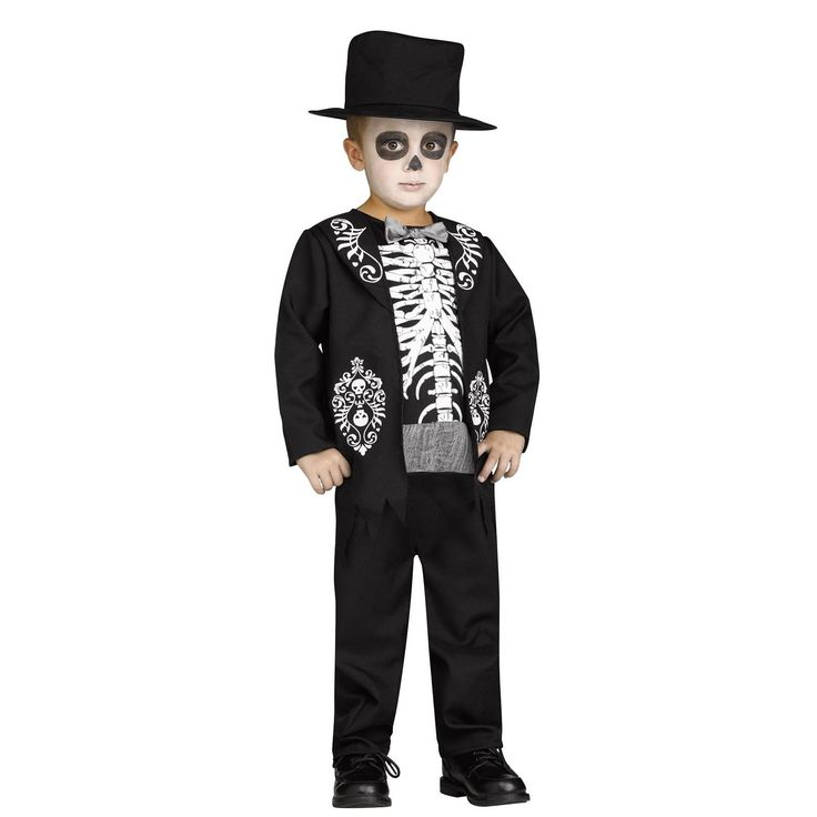 skeleton king child costume