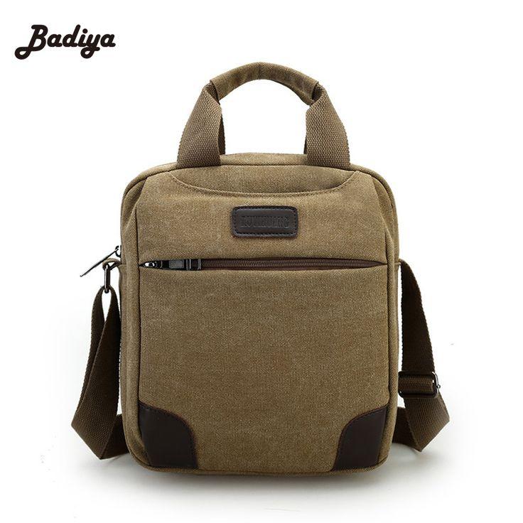 Brand New Canvas Men's Messenger Bag Shoulder Bags For Man Men Handbags Small Messenger Bags For Men Handbags High Quality