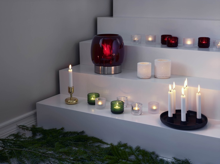 Light a candle, relax and come together. An abundance of votives and candle holders lets you decorate after your very own personal taste. How would you like your break from the routines – minimalistic or colourful, unconventional or classic?     www.iittala.com